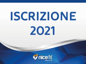 Iscrizione 2021
